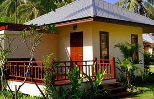 Eenvoudige bungalow op Ko Samui