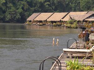 Reiservaring River Kwai Thailand
