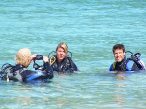 duiken rondreis Thailand strand