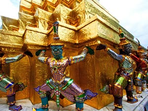 Tempel in Bankok Thailand