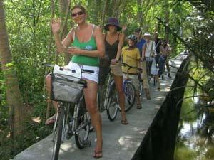 Fietsen Bangkok rondreis Thailand