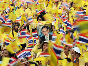 demonstraties bangkok in thailand