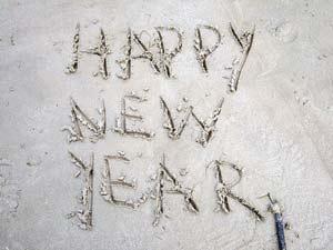 Happy new year Thailand