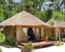 bungalow aan het strand Thailand