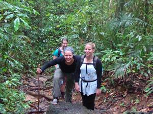 Thailand jungle wandeling met gids