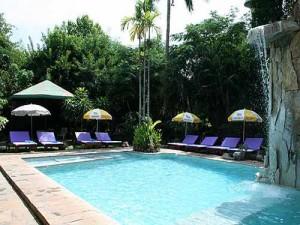 Khao ya zwembad Thailand