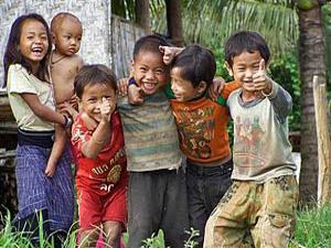Kinderen Luang Namtha Laos