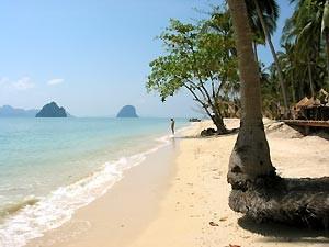 Strand Ko Hai Zuid Thailand