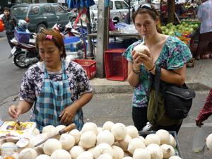 Thailand blog verse kokosnoot