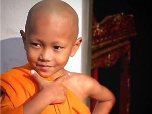 Monnik kindje - Thailand reis