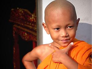 monnik kindje Thailand