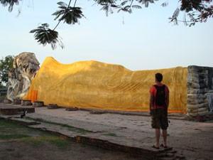 Liggende buddha Thailand