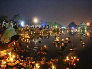 Feest van de lichtjes Thailand