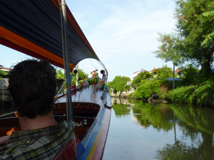 longtailboat Khlong Bangkok