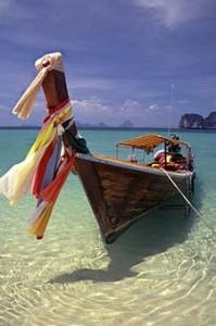 Thailand vervoer Thaise longtailboot