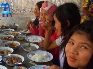 Weeskinderen Thailand