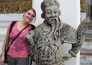 Marieke in Chiang Mai Thailand