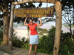 Gouden driehoek Thailand