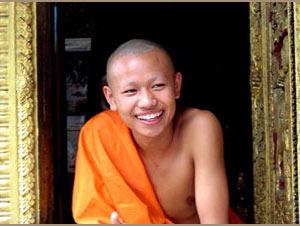 Monnik Luang Prabang Laos