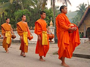 Laos totaal rondreis Thailand monniken