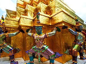 vakantie naar Thailand tempels