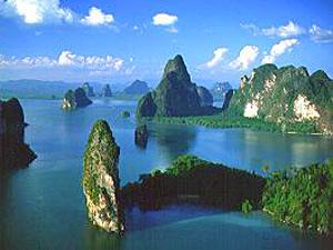 Phang Nga Baai Thailand rondreis