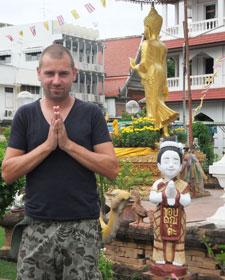 houdingen van de buddha thailand