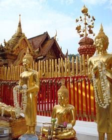 Staande buddha Thailand