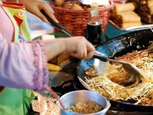 Thais recept Pad Thai Thailand