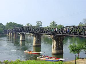 brug over river kwai Thailand