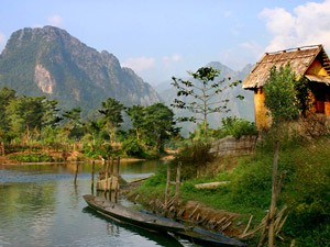 Tuben in Vang Vieng Laos