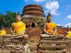 Ayutthaya tempels thailand rondreis