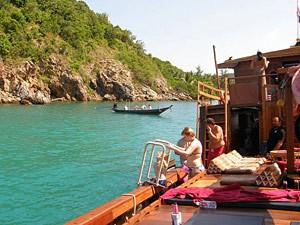 Zeilcruise eilanden rondreis door Thailand