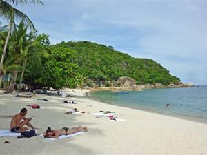 samui strand relaxen Thailand