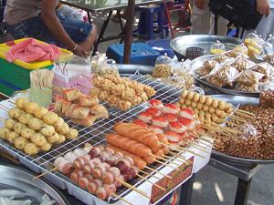 Eetstalletje Bangkok Thailand