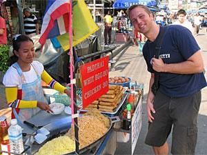 Bangkok verblijf lokale markt Thailand