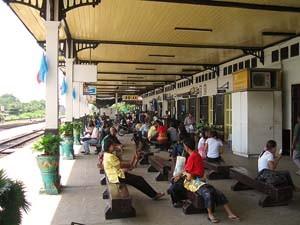 treinstation vervoer Thailand