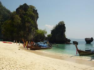 Rotsten Thaise westkust Thailand
