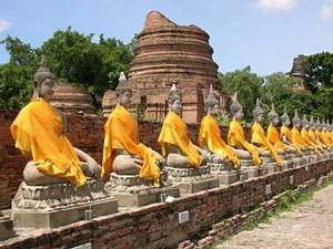tempels ayutthaya Thailand
