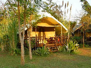 Tent River kwai Thailand