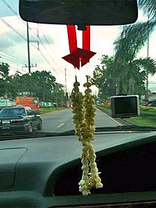 Autohuur Thailand raam