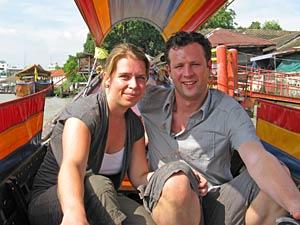 Longtailboot rondreis Thailand