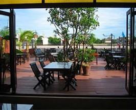 Thailand reis Bangkok terras