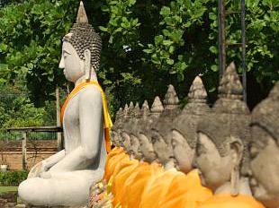 tempel sukhothai thailand