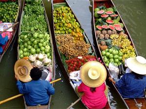 Thailand reis markt