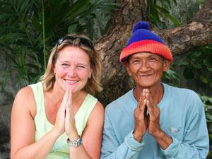 Locals kerstreis Thailand