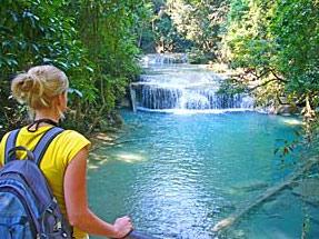 Thailand informatie Erewan watervallen