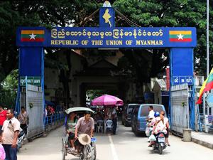 Gouden Driehoek Thailand grens Myanmar