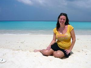 Zwanger Thailand strand