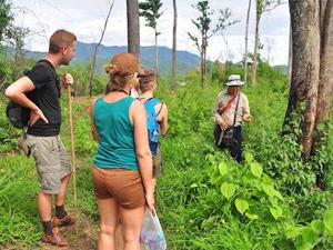 Trekking Thailand uitleg gids